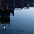 Upside down construction Crane by Rene Fuller