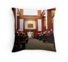 Law Library - UVA Throw Pillow