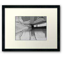 Canal 8-3 Framed Print