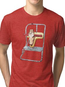 Horse Play Retro Rocker Tri-blend T-Shirt