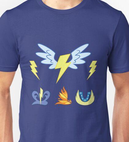My little Pony - Wonderbolts Cutie Mark Special Unisex T-Shirt