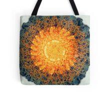 Sunburst Mandala Tote Bag