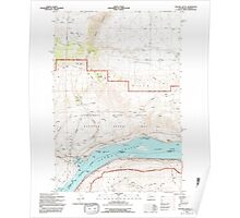 USGS Topo Map Washington Stacker Butte 243991 1994 24000 Poster