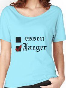 Shingeki no kyojin: essen or Jaeger? Women's Relaxed Fit T-Shirt