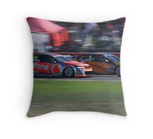 Jamie Whincup at Barbagallo Throw Pillow