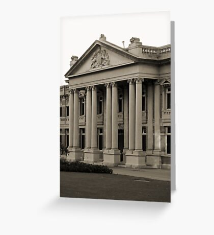 Perth's Supreme Court Greeting Card