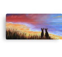 Hare Today Gone Tomorrow! Canvas Print