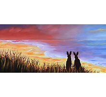 Hare Today Gone Tomorrow! Photographic Print