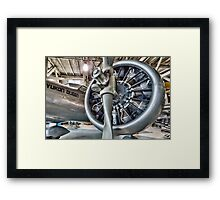 Engine One Pseudo HDR Framed Print