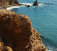 Scenic view in Palos Verdes, Southern California, USA by Anton Oparin