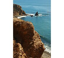Scenic view in Palos Verdes, Southern California, USA Photographic Print