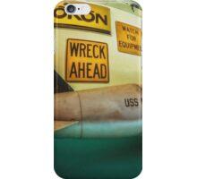 Wreck Ahead iPhone Case/Skin
