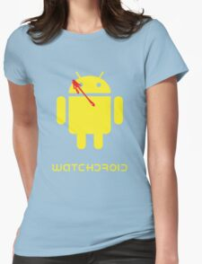Watchdroid Womens Fitted T-Shirt