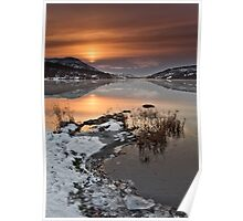 Winters Sunrise Poster