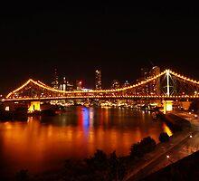 Story Bridge at Night by Tim Harper