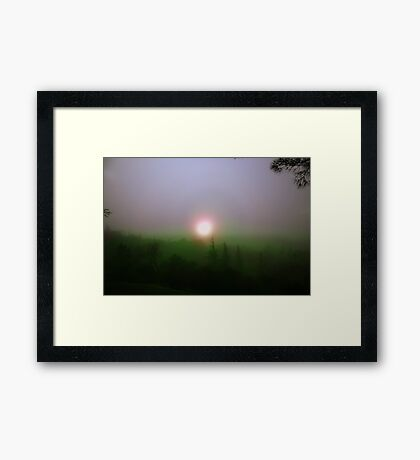 born in ancient times Framed Print