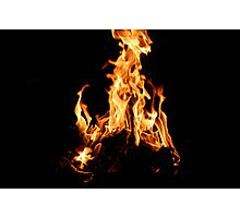 Flames Photographic Print