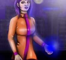 Sci-Fi Girl in the City by Grace Mutton