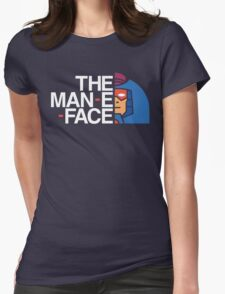 The Man-E-Face Womens Fitted T-Shirt