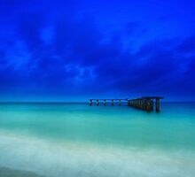 the old shipping pier by kathy s gillentine