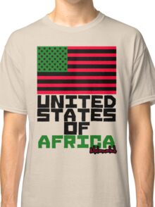 UNITED STATES OF AFRICA Classic T-Shirt