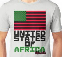 UNITED STATES OF AFRICA Unisex T-Shirt