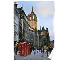 Evening Stroll on the Royal Mile Poster
