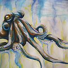 Crazy Octopus by Shelbeawest