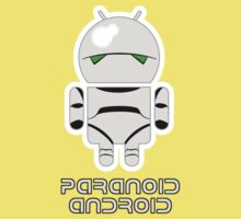 PARANOID ANDROID One Piece - Short Sleeve