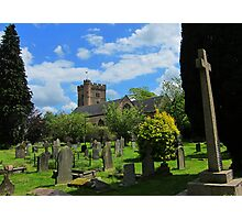 Priory Church of St Mary, Usk, Wales Photographic Print