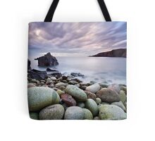 Pebble Beach at Sunset Tote Bag
