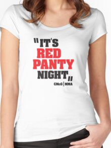 Conor McGregor - Quotes [Red Panty Night] Women's Fitted Scoop T-Shirt