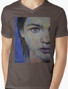Violet Mens V-Neck T-Shirt