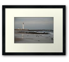 Barnes Ness Lighthouse,  Framed Print