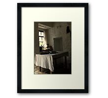 The Seat by the Window Framed Print