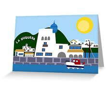 Seaport Greeting Card