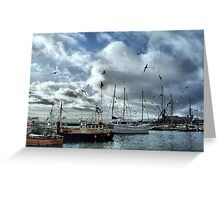 The Fleets In!  Greeting Card