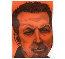 Eric Clapton celebrity portrait Poster