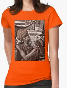 Sadhus of India Womens Fitted T-Shirt