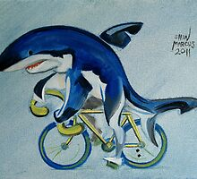 Shark on a Bicycle by Ellen Marcus