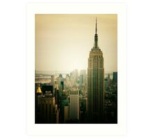 Empire State Building New York Cityscape Art Print