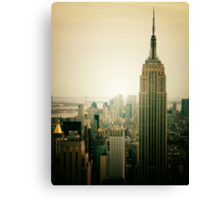 Empire State Building New York Cityscape Canvas Print