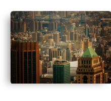 New York City Buildings and Skyline Canvas Print