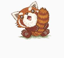 Red panda which holds a tail Unisex T-Shirt