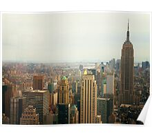 The Empire State Building And NYC's Skyline Poster