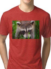 cute raccoon Tri-blend T-Shirt