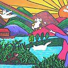 Rainbow Wizardry by Monica Engeler