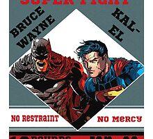 Batman v Superman Boxing Ad by Jaekwon Parker