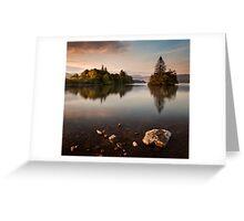 Lough Eske Calm Greeting Card