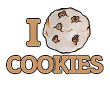 I love cookies Photographic Print